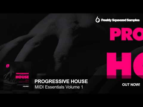 MIDI Packs   Progressive House MIDI Essentials Volume 1