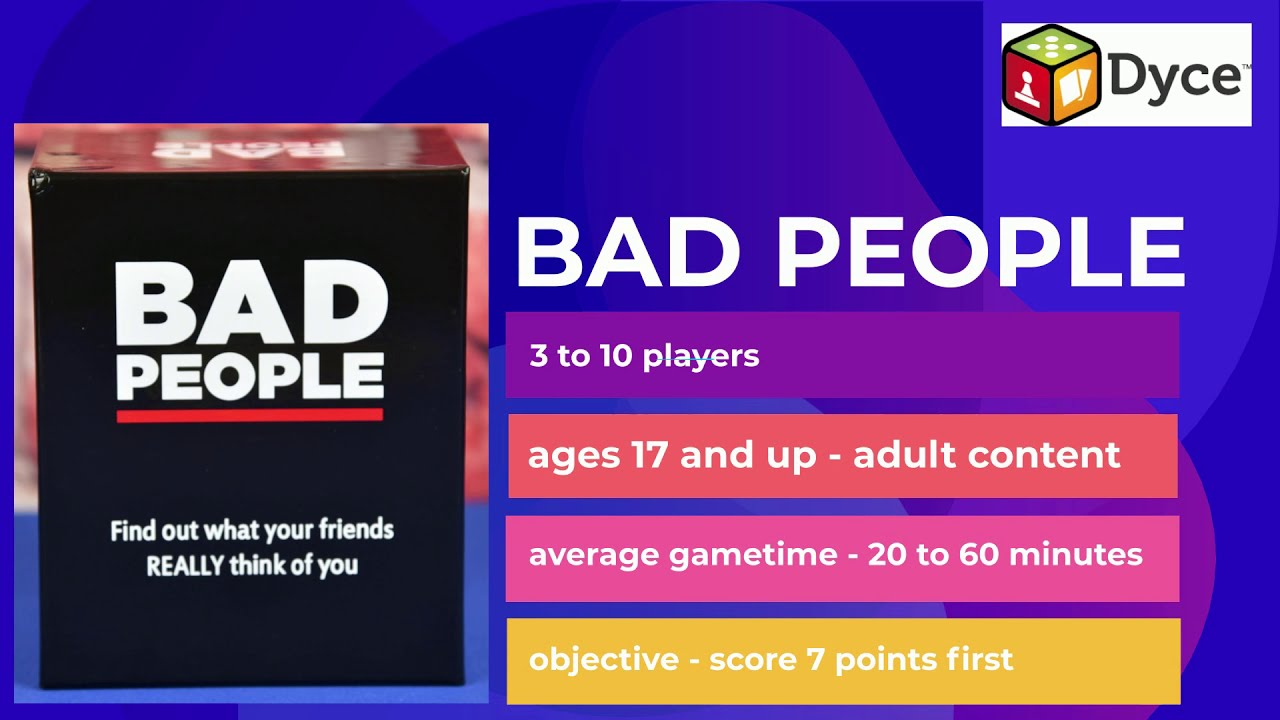 Download How to Play Bad People