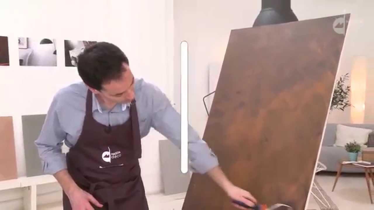 Maison Deco Peinture Fusion Metal Youtube