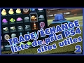 ROCKET LEAGUE FR | TRADE/ÉCHANGE, SITES UTILES & LISTE DE PRIX/ITEMS [PS4]