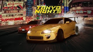 NEED FOR SPEED TOKYO NIGHTS (STARTUP/ MENU CONCEPT)