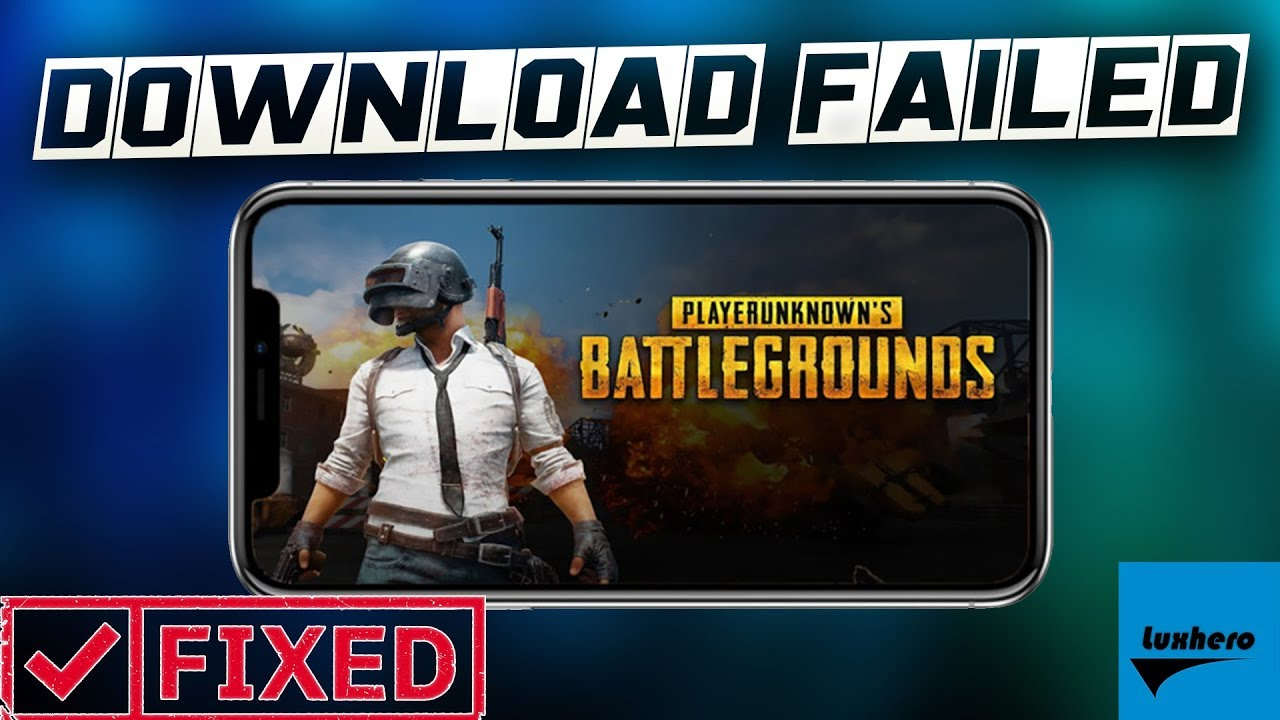 pubg mobile download failed because pc