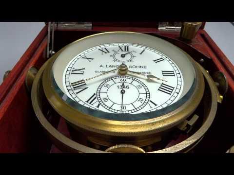 Kirova Lange & Sohne marine chronometer