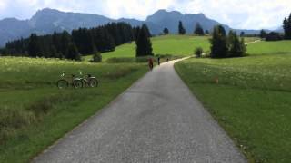 Fahrrad-Rundweg um Forggensee, Allgäu
