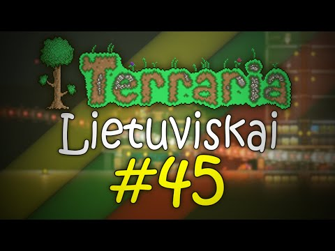 "[S3] Terraria lietuviskai #45 - Netiketas ""Naikintojas"" O.o"