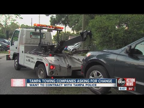 Company wants spot on Tampa Police towing list