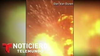 Explosión en China deja 50 muertos y 500 heridos hasta el momento | Noticiero | Noticias Telemundo