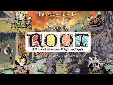 Root 4p Play-through &  Teaching by Heavy Cardboard