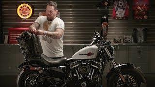 Dyna Sportster Softail USED Luggage Rack for Harley Davidson OEM Sissy Bars