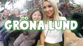 Gröna Lund med min syster