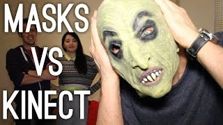 Masks vs Kinect in Kinect Sports Rivals