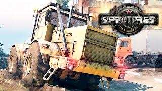 Spin Tires #23 - Нелепые аварии!