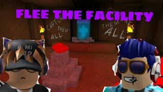 ROBLOX FLEE THE FACILITY VIP SERVER WITH FRIENDS