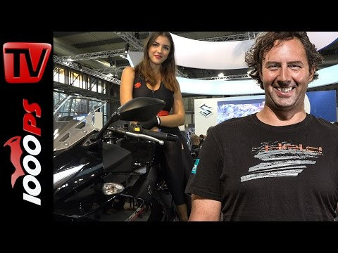 Motorrad Highlights und Girls 2017 | Best of EICMA - Vaulis Messerundgang