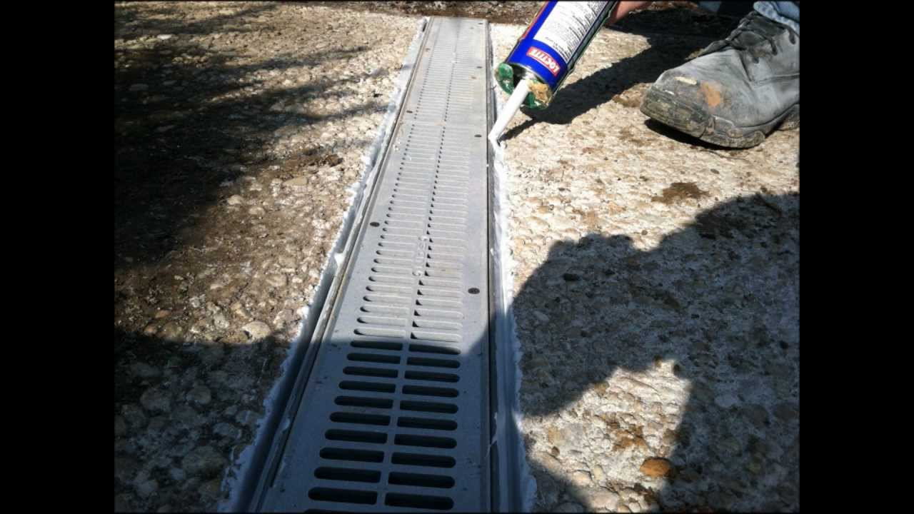 Superbe Front Yard Concrete Drain Installation In Hanover, Pa 17331   RYANu0027S  LANDSCAPING   YouTube
