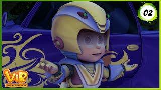Vir: The Robot Boy | Car Thief | Action Show for Kids | 3D cartoons