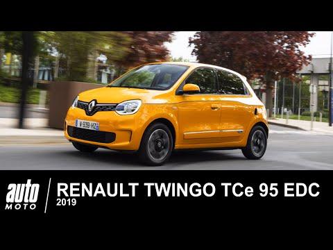 2019 Renault Twingo TCe 95 EDC Intens ESSAI AUTO-MOTO.COM