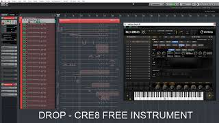 DROP CRE8  - Drum Loop in action!