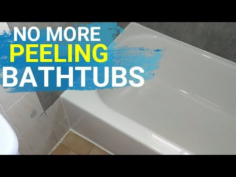 Bathtub Refurbishing on a Terrible bathtub in a rental apartment ...
