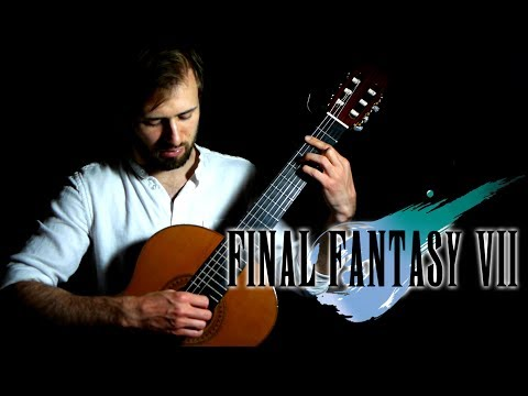 Final Fantasy 7 Guitar Cover - Tifa's Theme - Sam Griffin