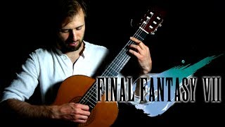 Final Fantasy 7 Guitar Cover - Tifa's Theme - Sam Griffin