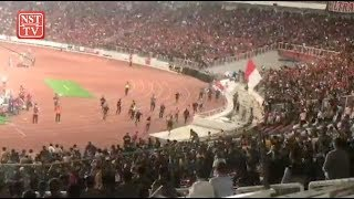 Incident between Indonesian and Malaysian supporters go viral