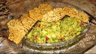 Guacamole - the best recipe.  Мексиканский салат из авокадо - Гуакамоле