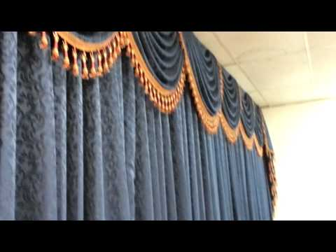 custom made Window draperies curtains or draperies made in los angeles