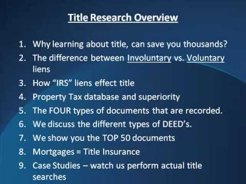 Overview of the class-TITLE RESEARCH and Examination Workshop
