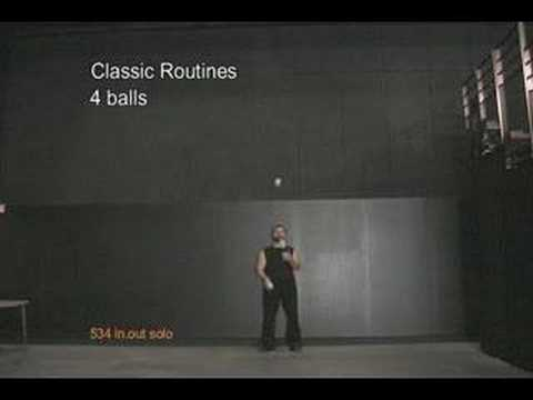 4 balls - Classic Routines
