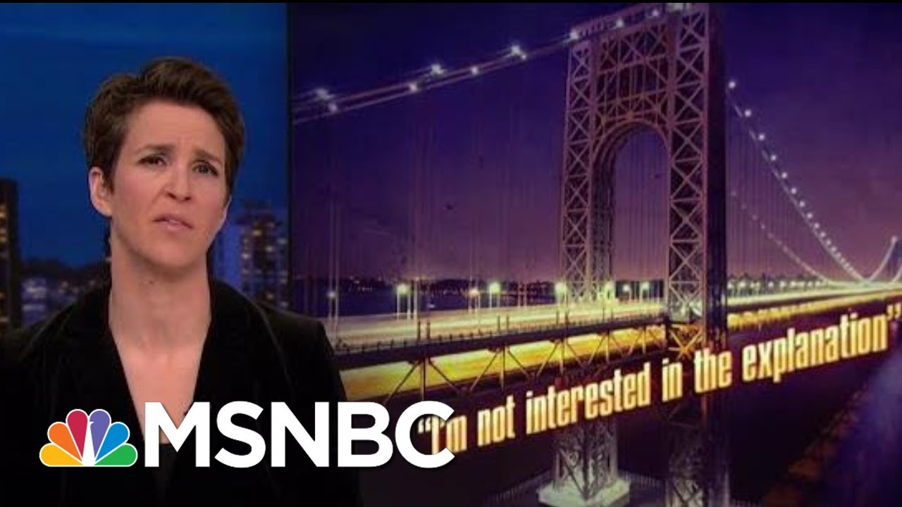 Chris Christie's Future Likely Affected By Bridgegate Scandal   Rachel Maddow   MSNBC