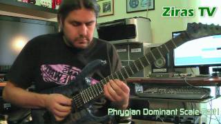 Learn to play the Phrygian Dominant Scale Part1   Lick of the Week 61