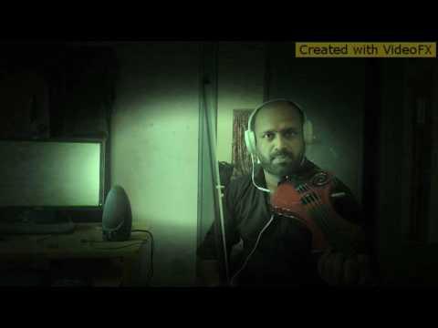 malare mounama... Instrumental by sreeraj on violin...