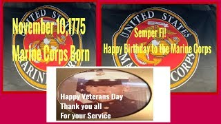 Happy Birthday Marine Corps | Happy Veterans Day