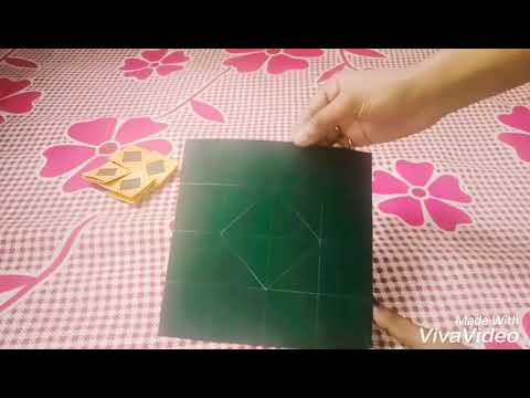 DIY/ Secret message flower card Tutorial /handmade easy craft