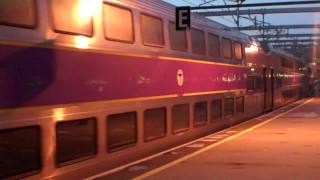 Amtrak & MBTA at Providence Station Rhode Island