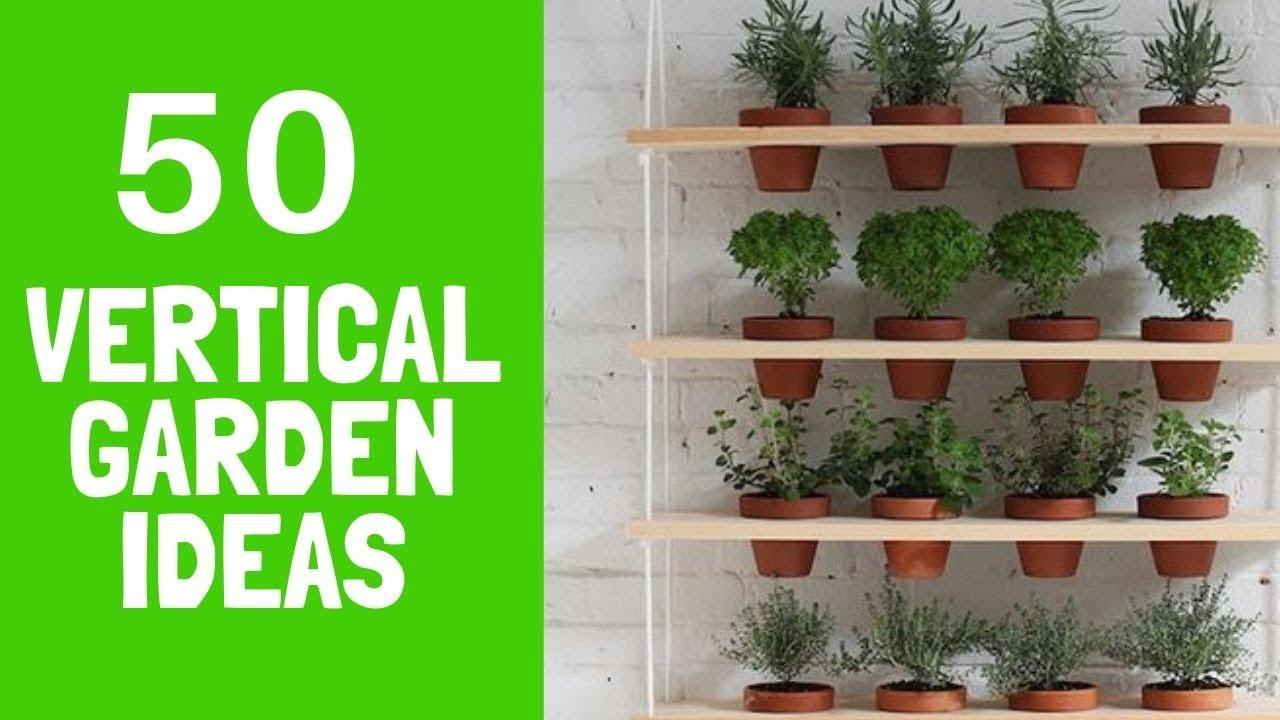 50+ Cool Outdoor Vertical Garden Ideas