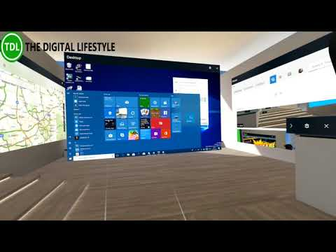 How to use desktop apps in Windows Mixed Reality
