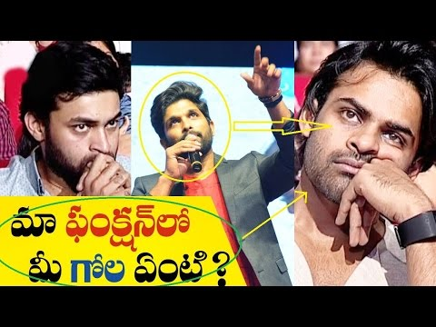 Hilarious Allu Arjun Spoof - Cheppanu brother
