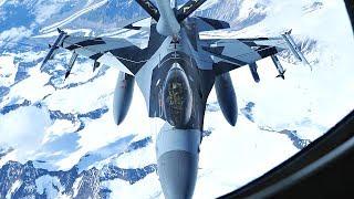 F-16 Aggressor In Cool New