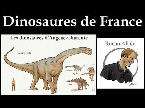 FAQ: les dinosaures de France, partie 2, Ronan Allain