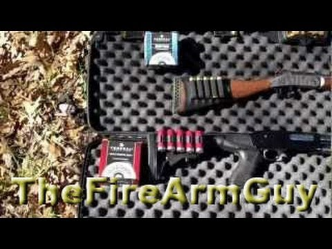 Shotgun shells penetration test