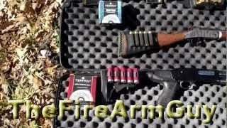 12 gauge vs 20 gauge Penetration Test with 7 1/2 shot - TheFireArmGuy