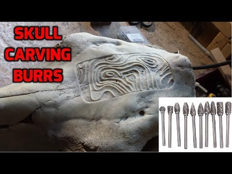 Skull Carving Burrs You Should Try!