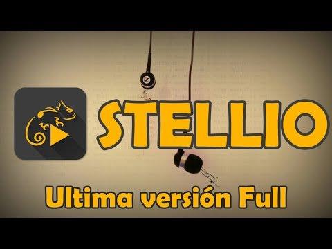Descarga Reproductor de música Stellio full | APK no root