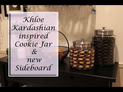 Khloe Kardashian Inspired Cookie Jar and New Sideboard 😊🍪