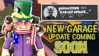 NEW Roblox JailBreak GARAGE UPDATE COMING SOON... (roblox live) | 🔴 LIVE