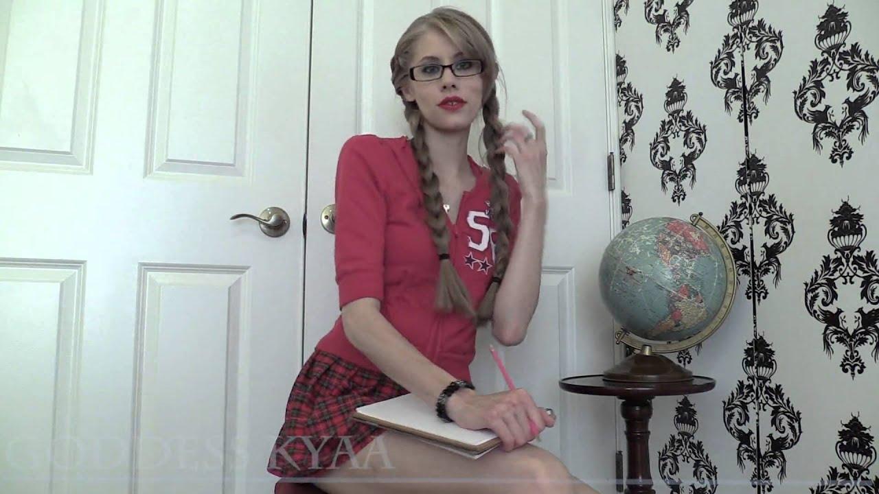 image Upskirt schoolgirl manipulation goddess kyaa