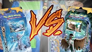 Pokémon Sun & Moon Theme Deck Battle!! | Bright Tide VS Forrest Shadow