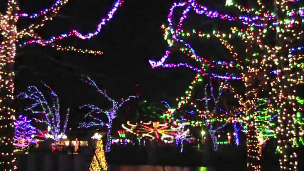 Kennywood Holiday Lights - YouTube